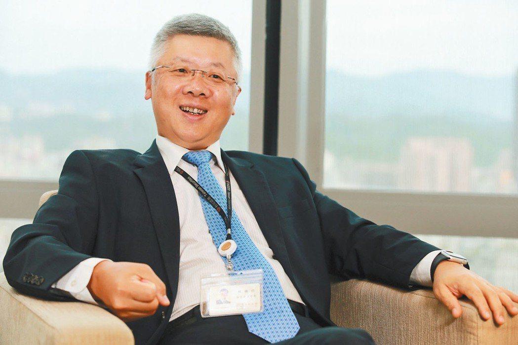 台新金控總經理林維俊。 報系資料照