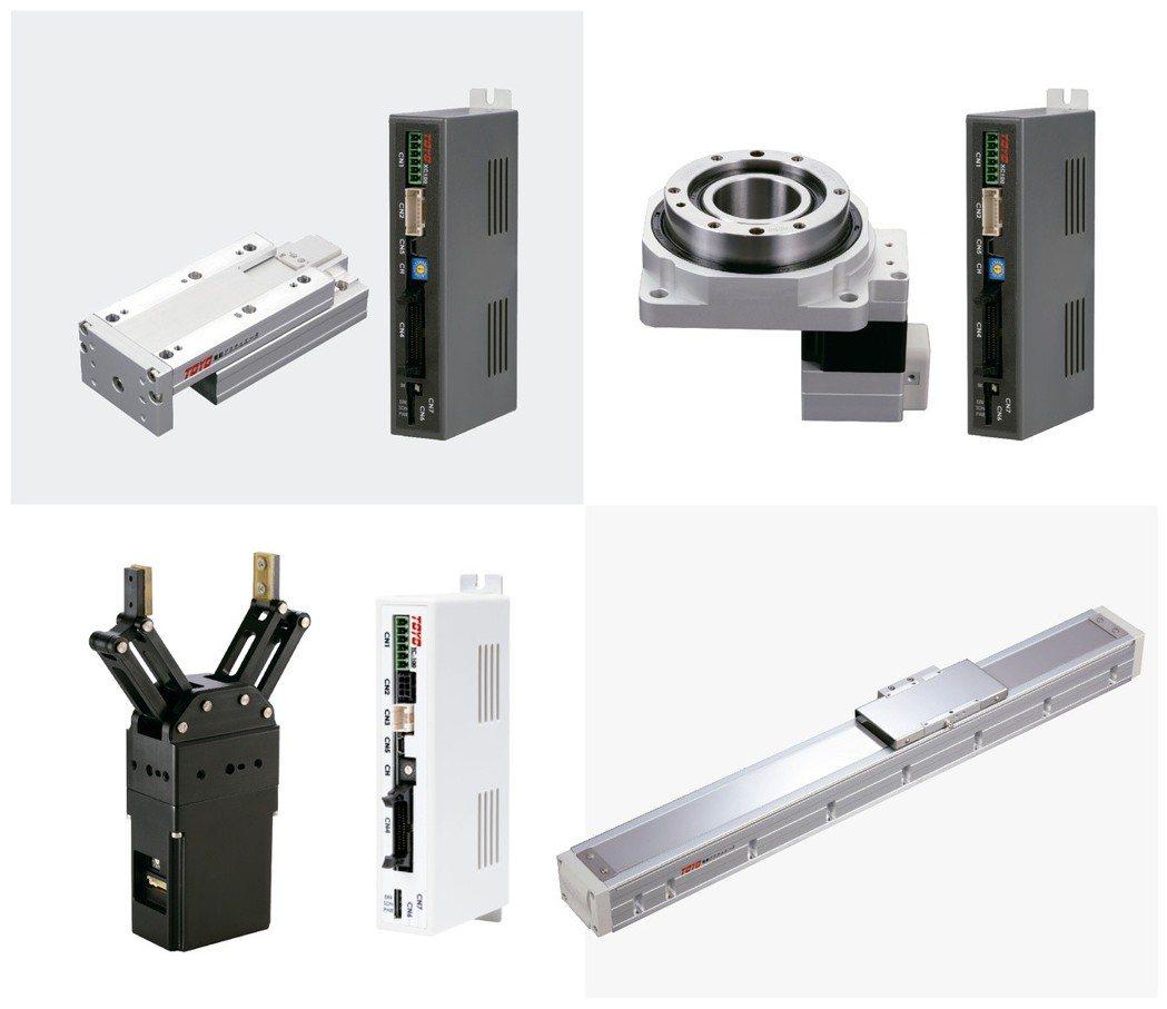 東佑達7月13日新產品發表會,將發表多項改良及革新的滑台與控制器。TOYO/提供