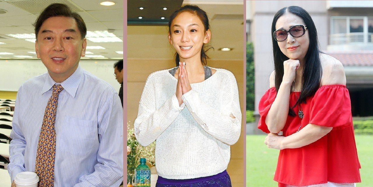 圖由左自右為高國華、劉喬安、許純美。報系資料照