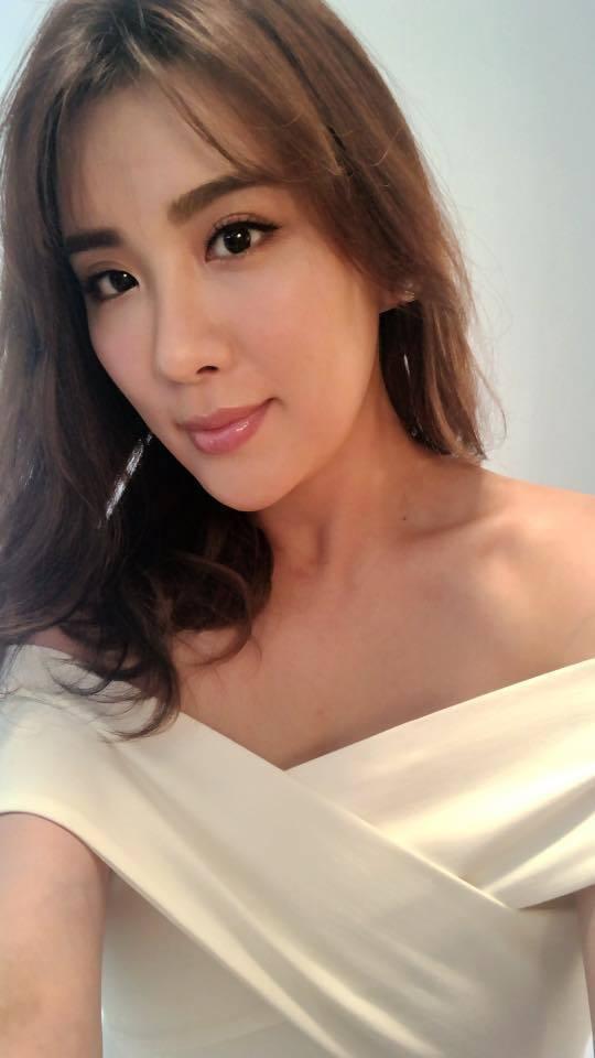 小禎瘦下來後變得更漂亮。 圖/擷自胡小禎臉書