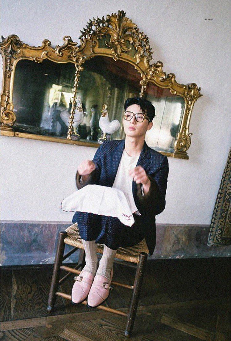 人氣韓星朴敘俊。圖/擷自instagram