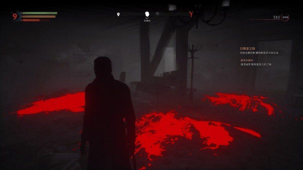 無法按耐吸血衝動的他,就算在黑暗之處,還是能感受到血液的存在。
