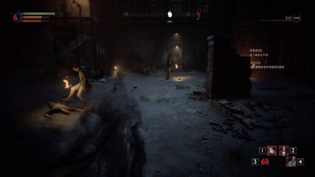 隱形主要用來避免戰鬥,不過遊戲後期的牧師敵人能看穿你的偽裝。