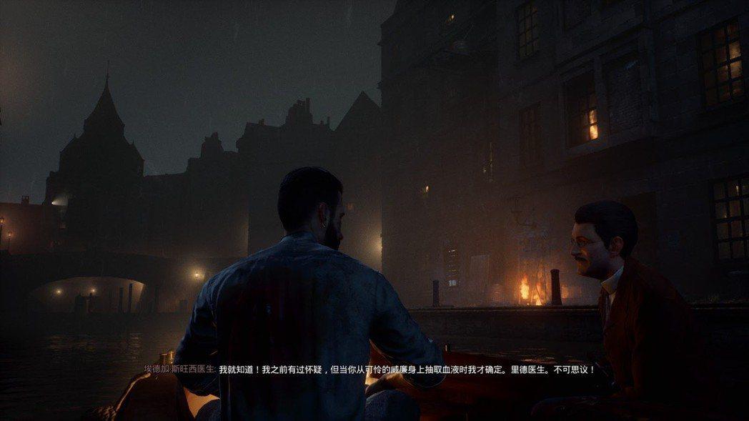 不得不稱讚遊戲內的都市街景設計,還原了霧都倫敦的氛圍。