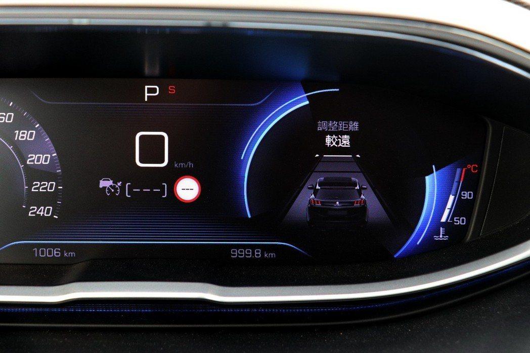 .6L BlueHDi Allure車型以上即配備ACC主動式定速巡航附自動煞車...