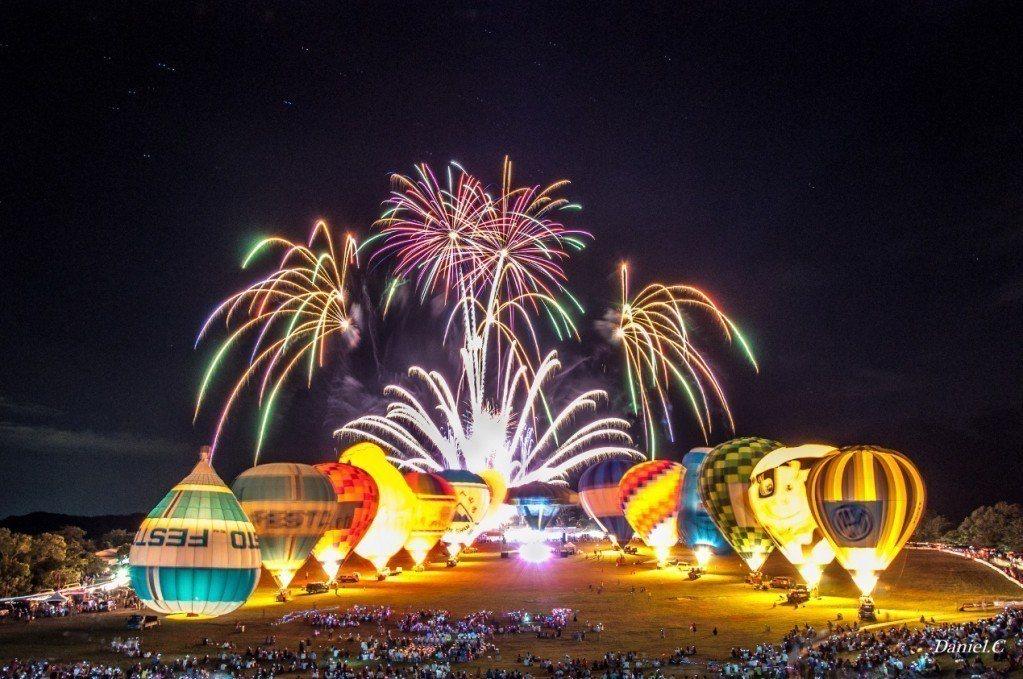 光雕音樂節。 圖/Flickr