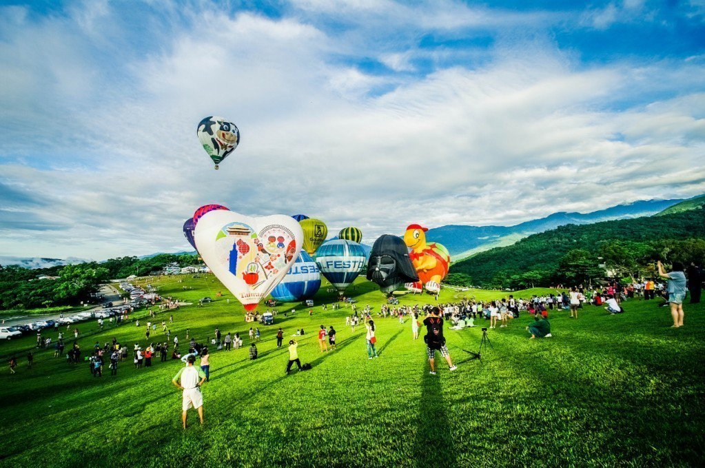 熱氣球空中導覽。 圖/Flickr