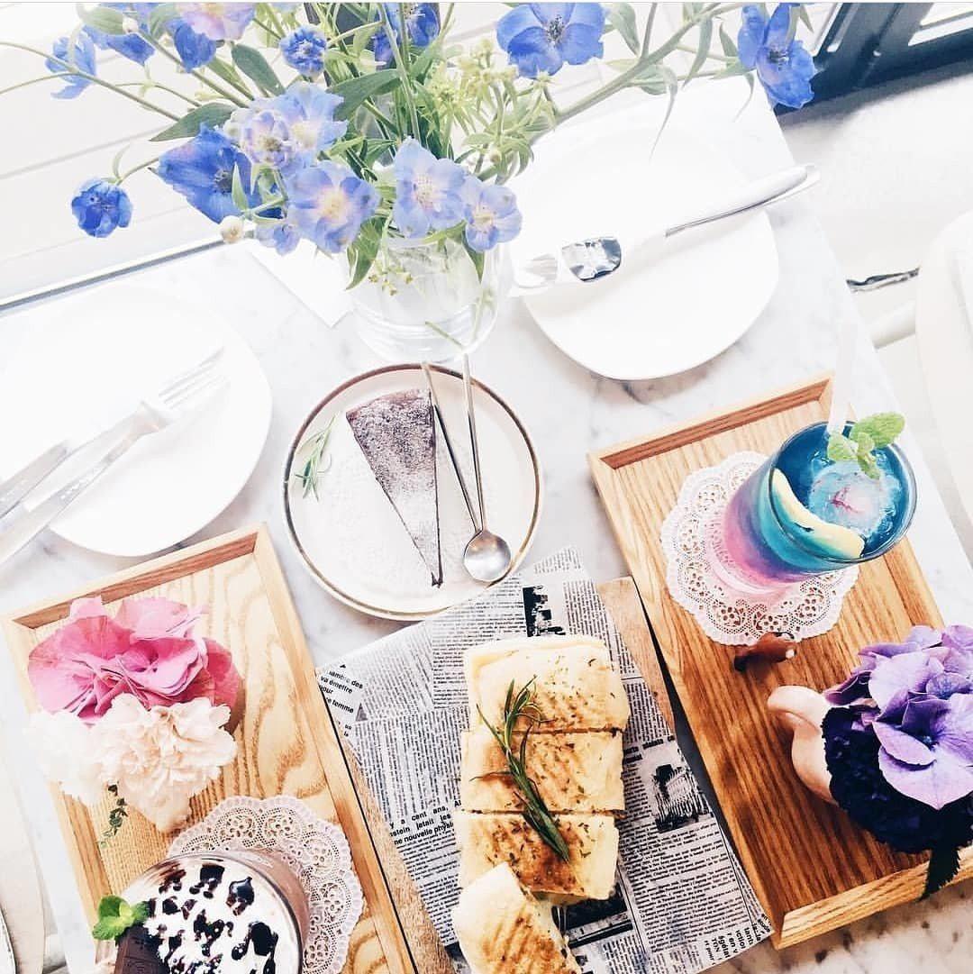 ▲首爾咖啡廳-Florte Flower Cafe。(圖/flowercafe_...