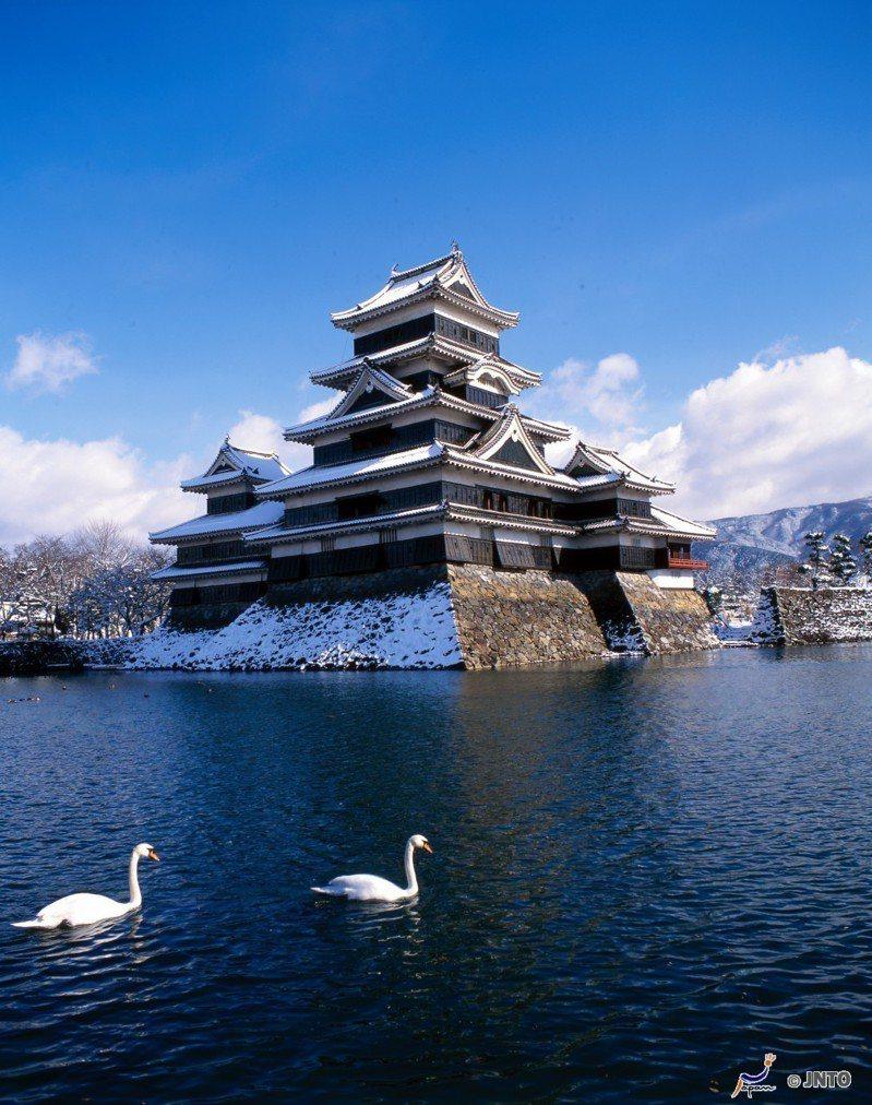 ▲日本100名城-松本城。(圖/©Matsumoto city/©JNTO)