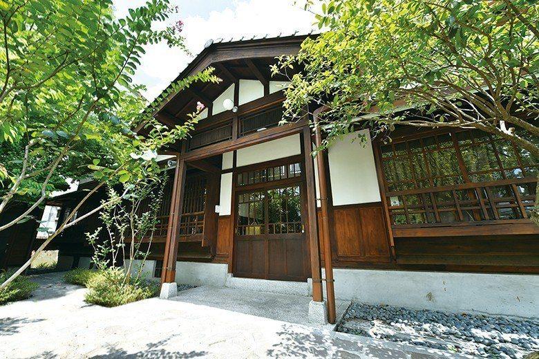 日治時期警察宿舍於2009 年登錄為歷史建築 【圖・文化資產處】