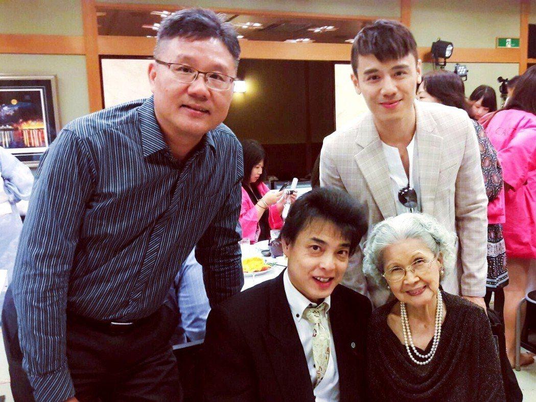 「Tony」邱志宇獲得日本皇族邀宴 ,受寵若驚。圖/海鵬提供