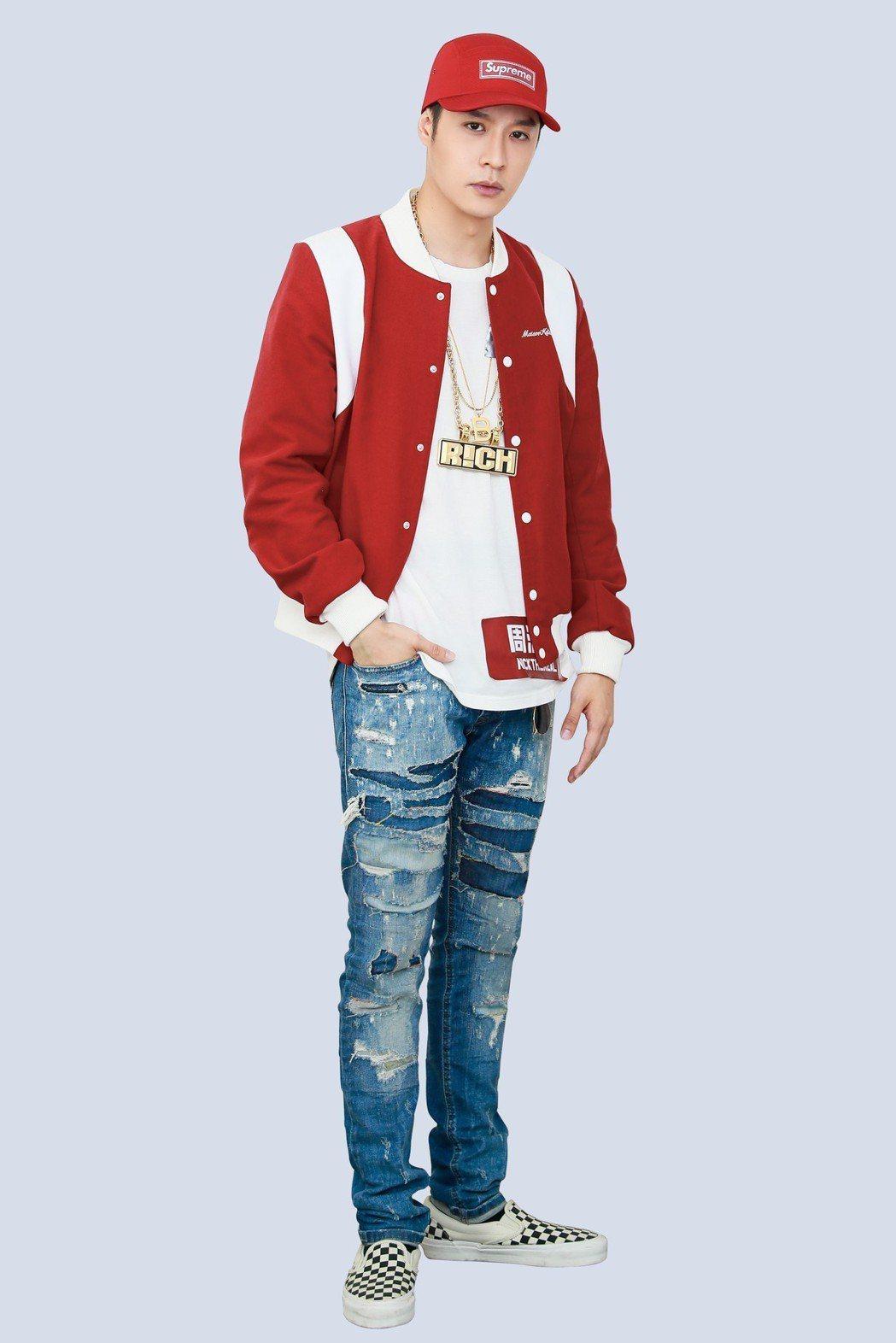 周湯豪參加「中國新說唱」,被爆已晉級6強。圖/天熹娛樂提供