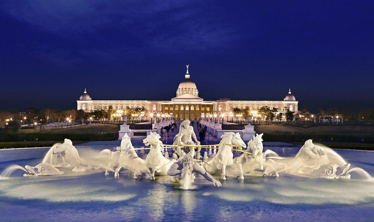 奇美博物館將舉辦「散步市集.夏夜好涼」活動,邀請民眾一起夜遊博物館園區。圖/奇美...