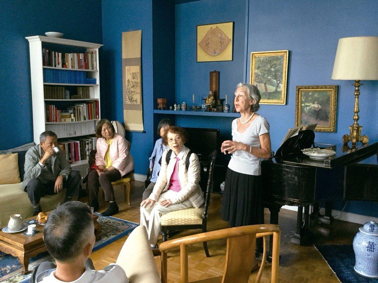 巴黎城居女漢學家,分享期耕耘東方文學多年經歷。 圖/有行旅提供
