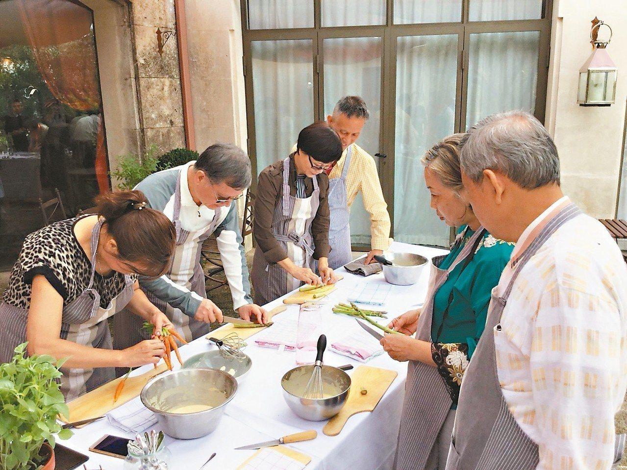 米其林級主廚親授無麩質料理。 圖/有行旅提供