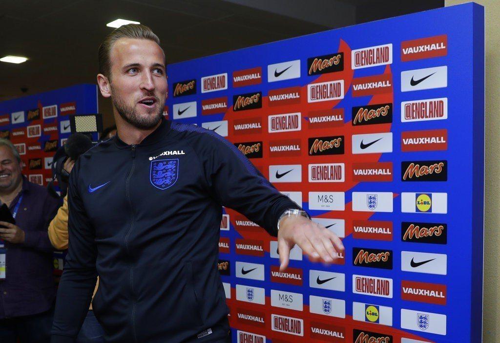 英格蘭隊長無懼強敵針對性防守,有信心場場進球為英格蘭拚下大力神盃。 美聯社