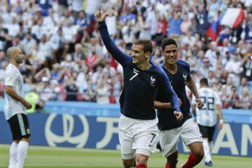 世足8強賽打溫情牌 烏拉圭向法國格里茲曼喊話