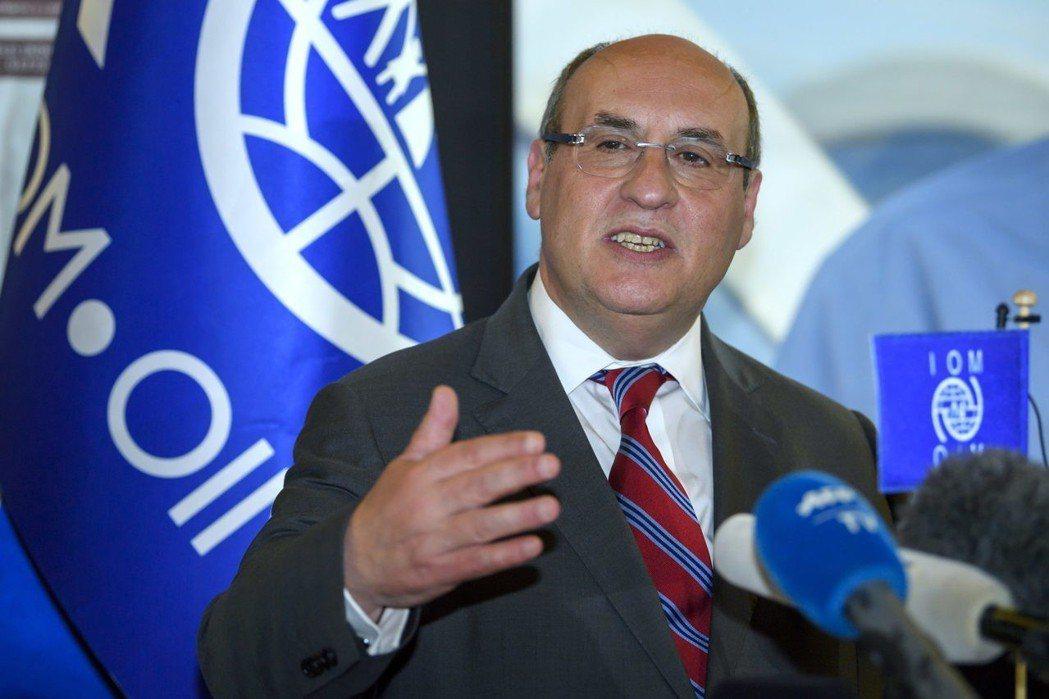 甫當選聯合國國際移民組織新任秘書長的維托里諾。 (歐新社)