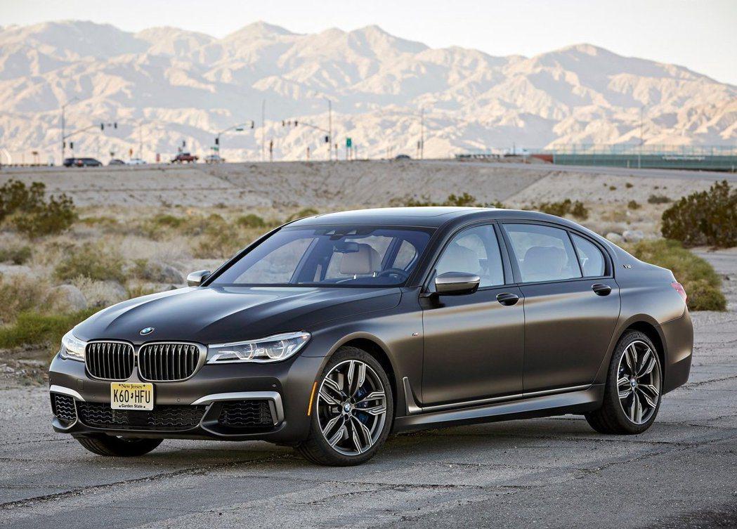 現行 BMW M760Li_xDrive。 摘自BMW