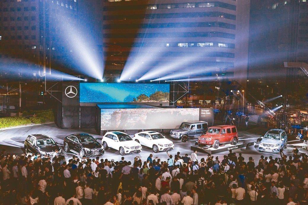 挾雷霆萬鈞的氣勢,Mercedes-Benz頂級休旅家族伴隨The new G-...
