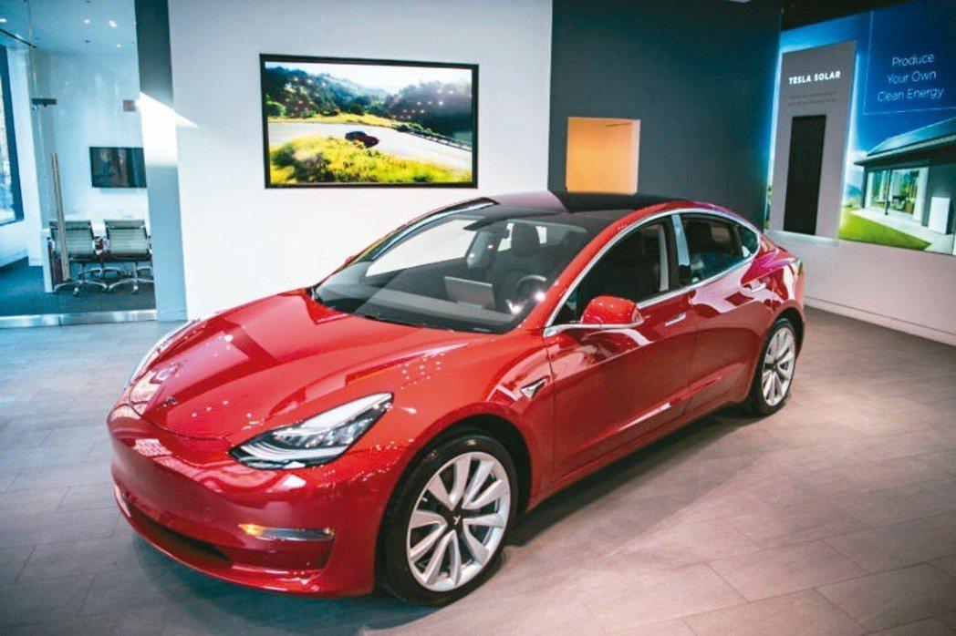 特斯拉(Tesla)執行長穆斯克(Elon Musk)宣布特斯拉平價車款Mode...