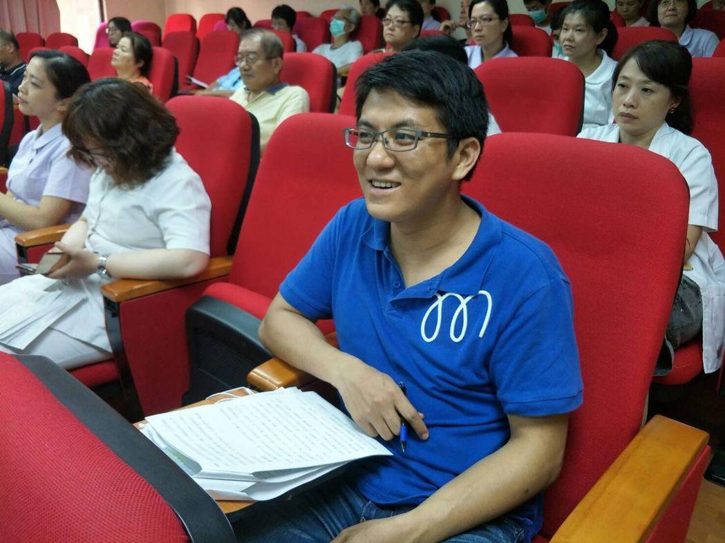 新竹榮民之家公務人員踴躍參與理財講座。