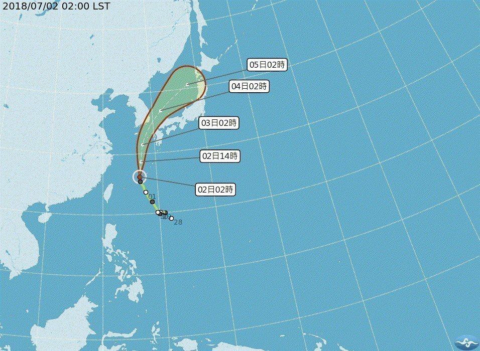 第7號颱風巴比侖今天由日本九州以西海域北上,強風豪雨帶來災情,已知九州有16人受...