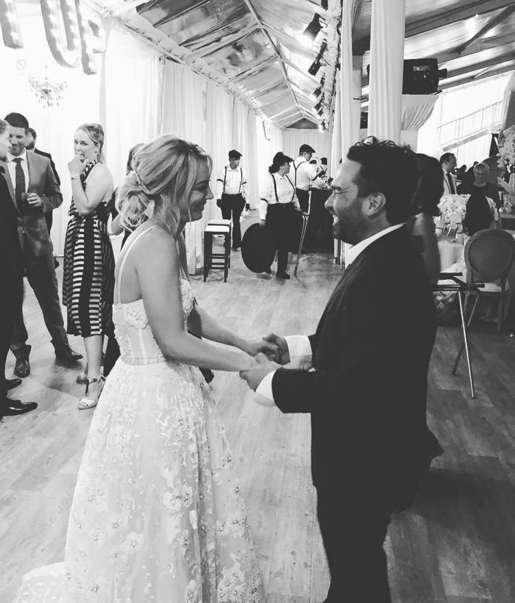凱莉庫柯和強尼葛萊奇。圖/擷自instagram