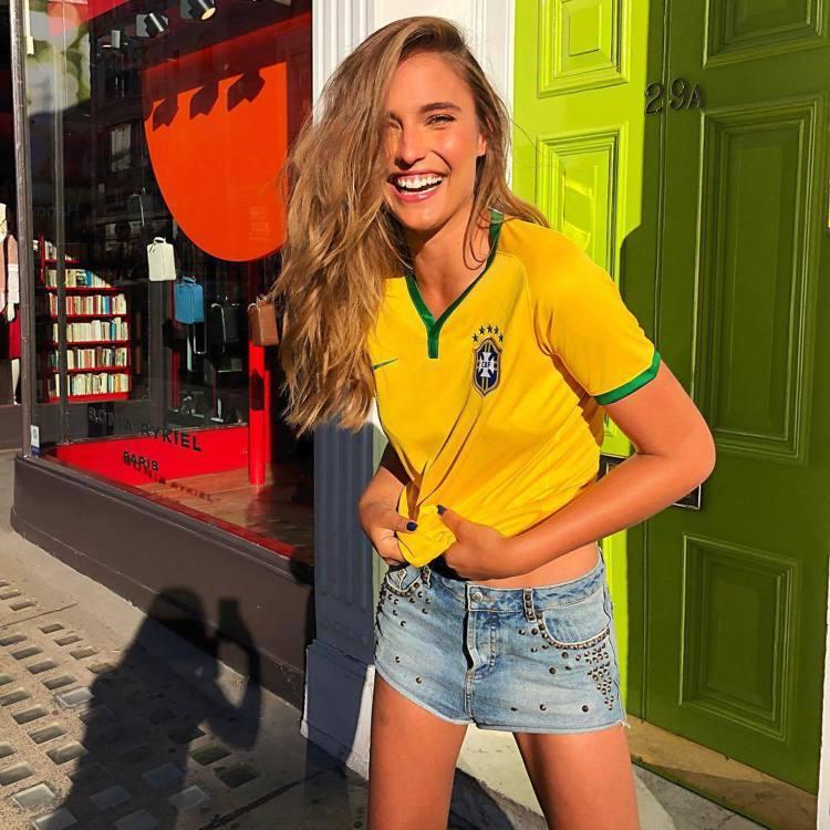巴西名模Fernanda Liz。圖/擷自instagram