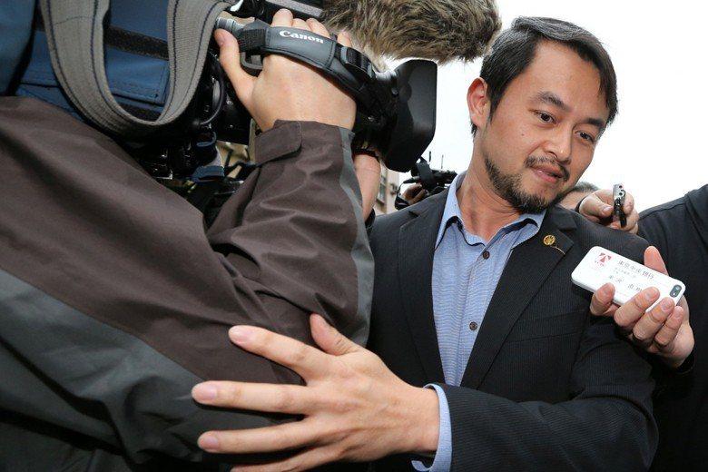 華山分屍案兇嫌委任律師黃致豪。 圖/聯合報系資料照