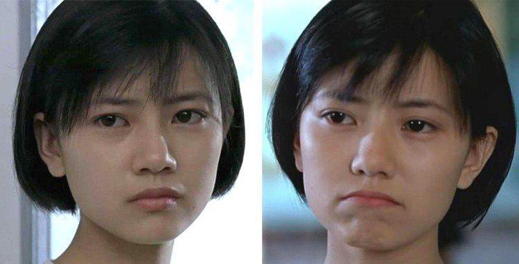 高圓圓20年前所拍攝的電影《愛情麻辣燙》造型。圖/擷自微博
