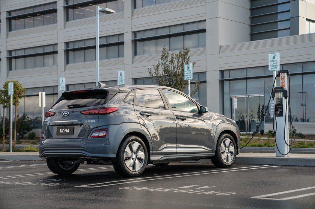 全新Hyundai Kona Electric。 摘自Hyundai