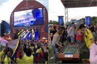 世足現場直擊2 莫斯科交通與嗨到爆的直播球迷派對