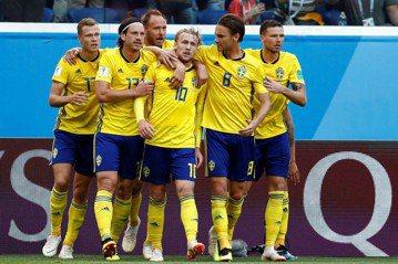 瑞典1:0爆冷淘汰世界第6瑞士 24年來首晉8強