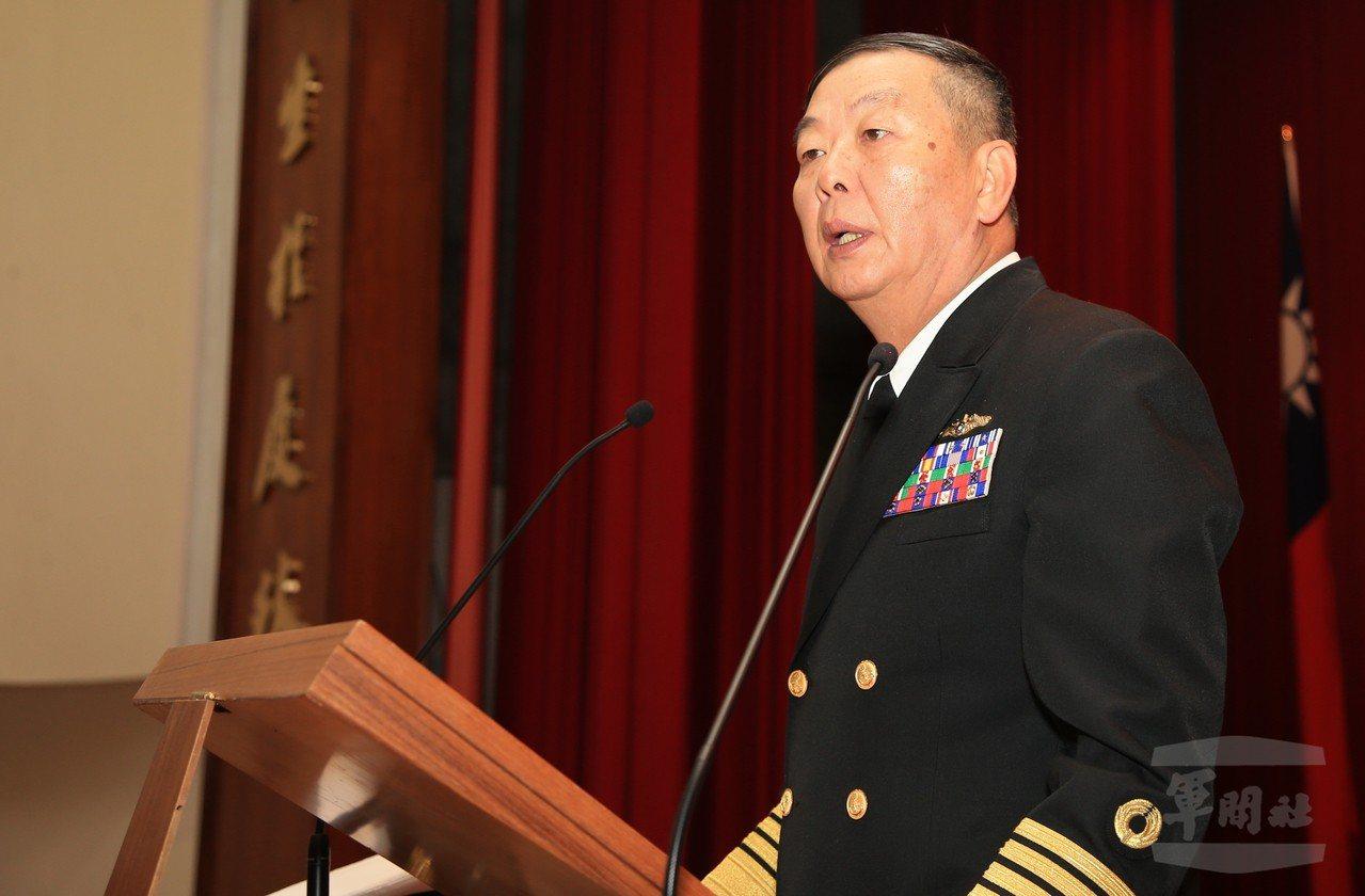 海軍司令黃曙光。圖/軍聞社資料照