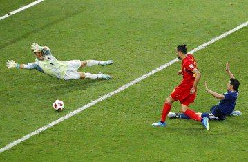 日本強攻90分好球 比利時陣容變換得宜助絕殺