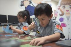 台中小小警察營開放登錄首日 2千家長擠爆市警局臉書