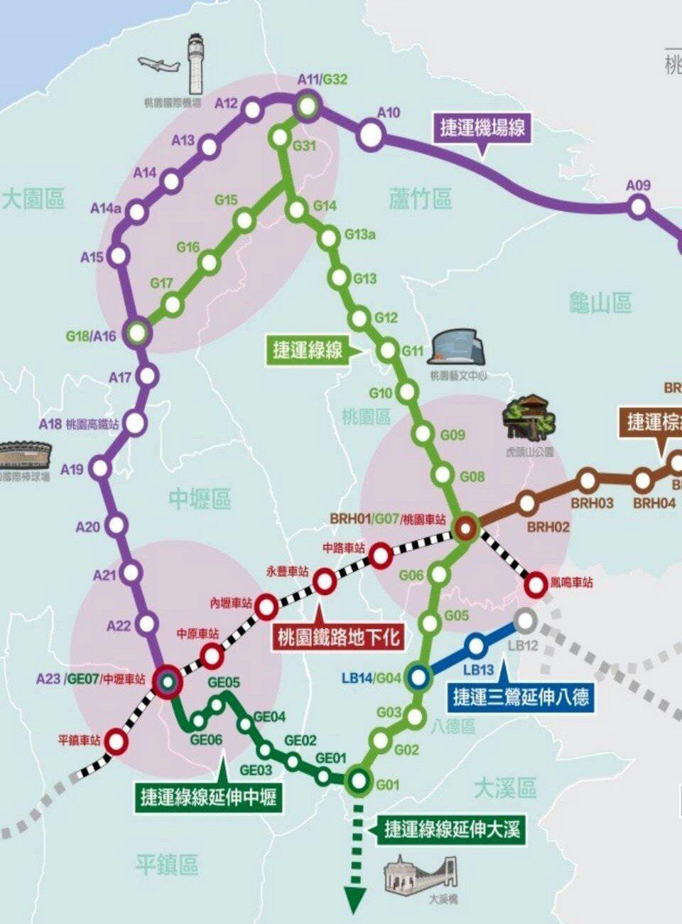 桃園市捷運綠線工程全線21站,土建工程第一個標案月底開標,預定10月中旬動工。記...