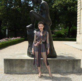 秋冬訂製服/宇宙超級巨星景甜 降臨Dior高訂大秀