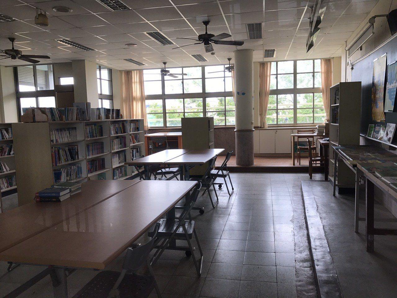 宜蘭縣興中國中現有圖書室將搬遷,新設宜蘭縣實驗教育創新育成中心。 圖/讀者提供
