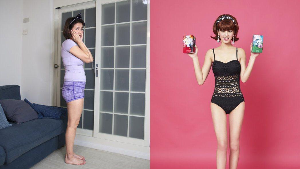 蘇晏霈剷肉八公斤後,穿泳裝超性感。  圖/CHOYeR 提供