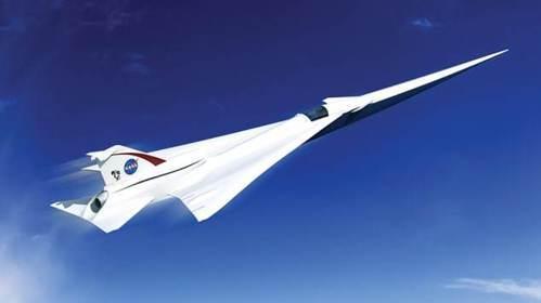 NASA正在建造無音爆的超音速飛機X-59。 圖/摘自NASA官網
