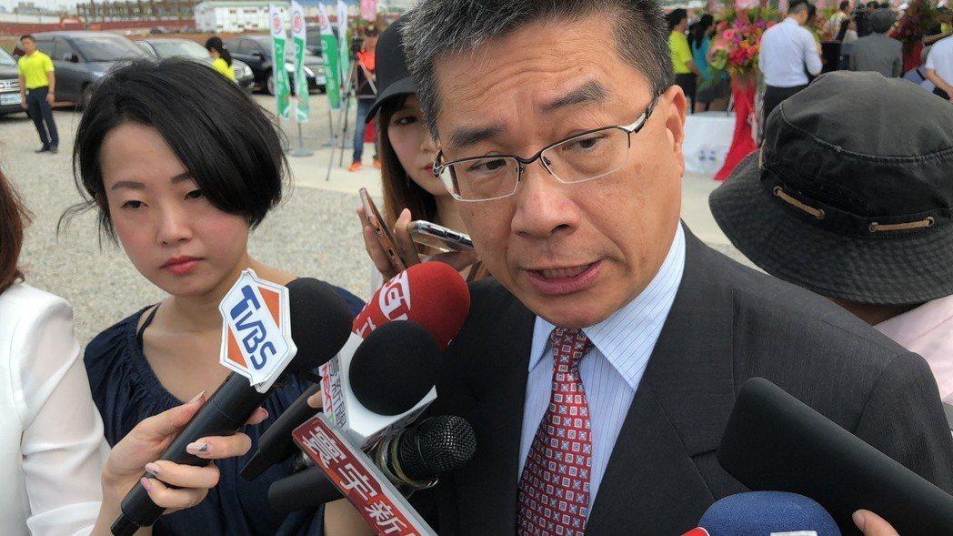 行政院發言人徐國勇挺吳挺到變成「超級災區」。圖/聯合報系資料照片