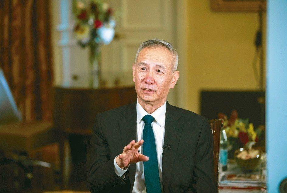 陸國務院副總理劉鶴