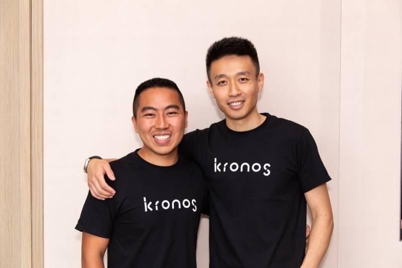 KRONOS兩位創辦人Mark Pimentel(左)和Jack Tan(右)。...