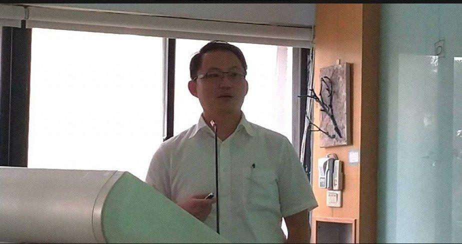 光葉綠力事業部長胡哲彰。