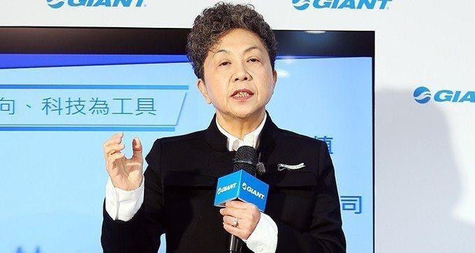 巨大集團董事長杜綉珍。 報系資料照