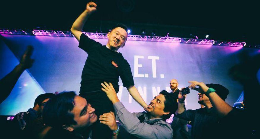 格鬥遊戲職業選手「E.T.」林家弘(Photo Credit: EVO Japa...