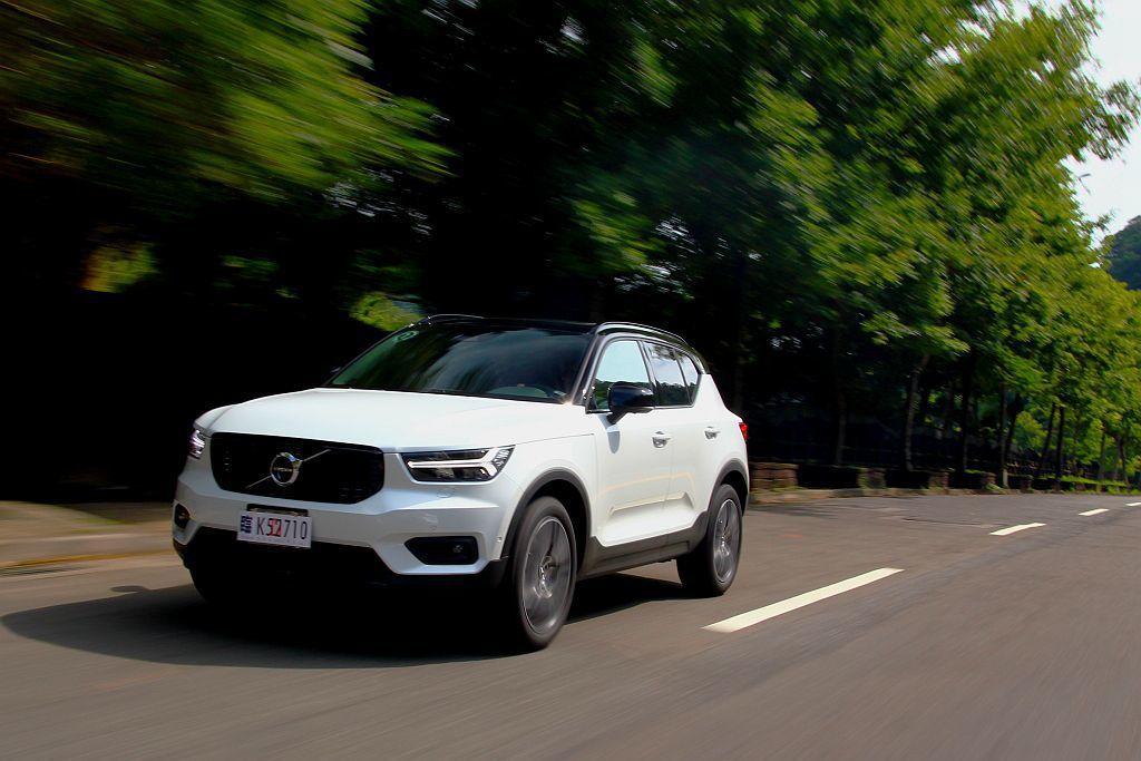 Volvo XC40在動力、安全或空間機能,都是打破現有級距規範而來,加上許多安...