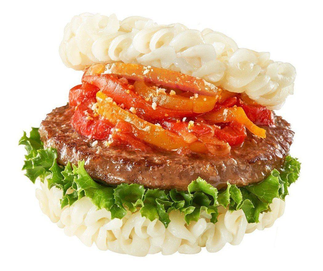 摩斯漢堡推出新型態的Q彈米麵板掀起搶購熱潮 圖/農糧署 提供